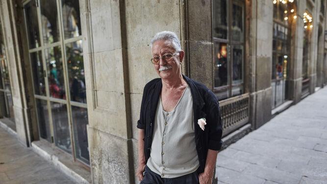 Nazario, retratado recientemente en Barcelona.