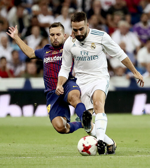 Las imágenes de la vuelta de la Supercopa de España