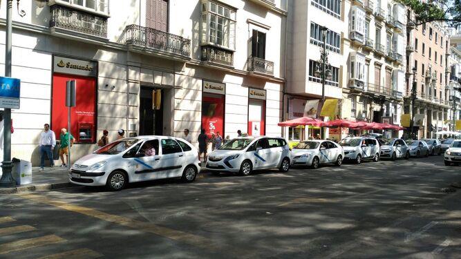 Los taxis vuelven a la normalidad después de la huelga