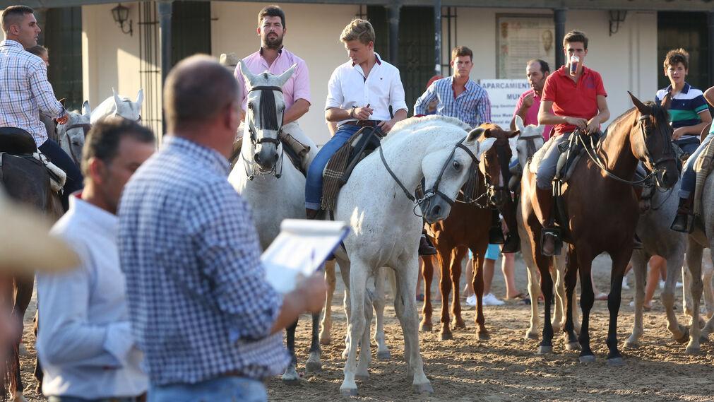 Las imágenes de la carrera de cintas a caballo