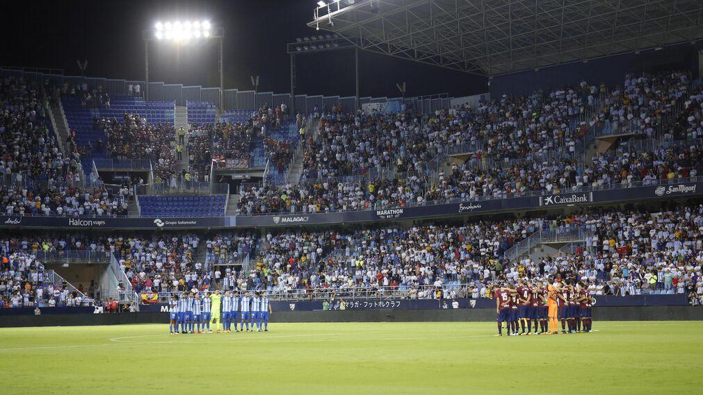 Las imágenes del Málaga-Éibar
