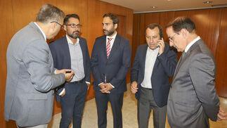 Sergio Cubero, Francisco Pomares, Daniel Pérez, José Luis Ruiz Espejo y Javier González de Lara.