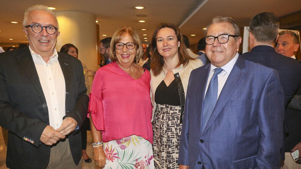 José Sánchez Maldonado, Adelaida de la Calle, María del Martín Rojo y Jerónimo Pérez Casero.