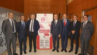 Antonio Méndez, Antonio Gómez Guillamón, José Joly, Francisco de la Torre, Justiniano Cortés, Elías Bendodo y Javier González de Lara.