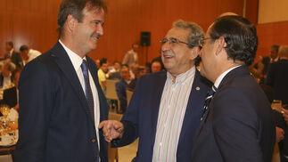 Pablo Atencia, José Ángel Narváez y Miguel Briones.