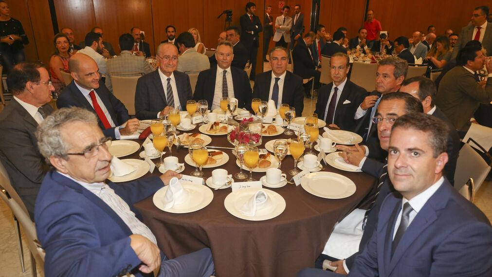 Nárvaez, González de Lara, Cortés, De la Torre, Bendodo, Pérez Tabernero, Gómez Guillamón, Briones y Conde.
