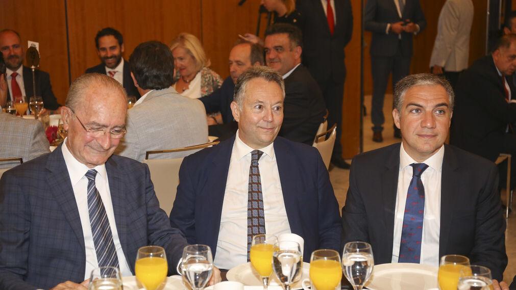 Francisco de la Torre, José Joly y Elías Bendodo.
