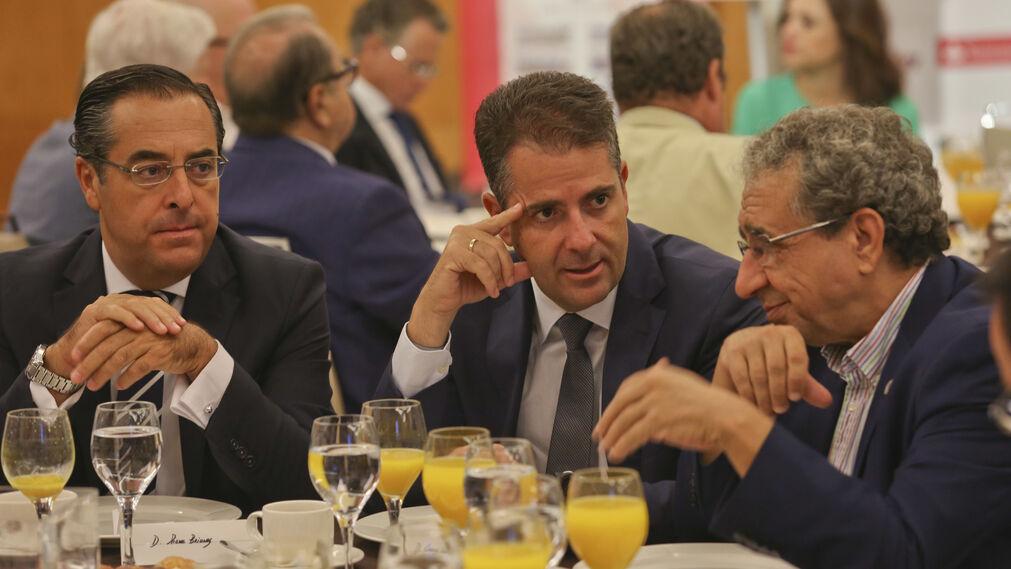 Briones, Conde y Narváez.