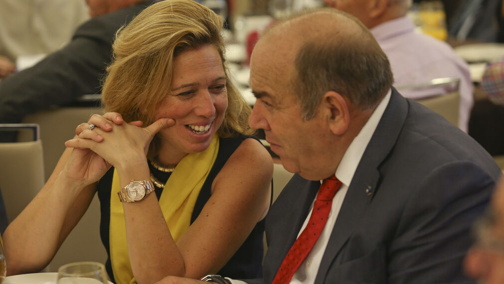 Elvira Maeso y Federico Beltrán.