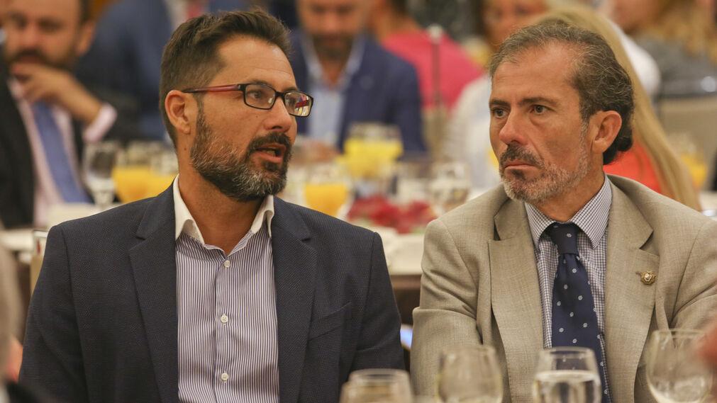 Francisco Pomares y Francisco Javier Lara.