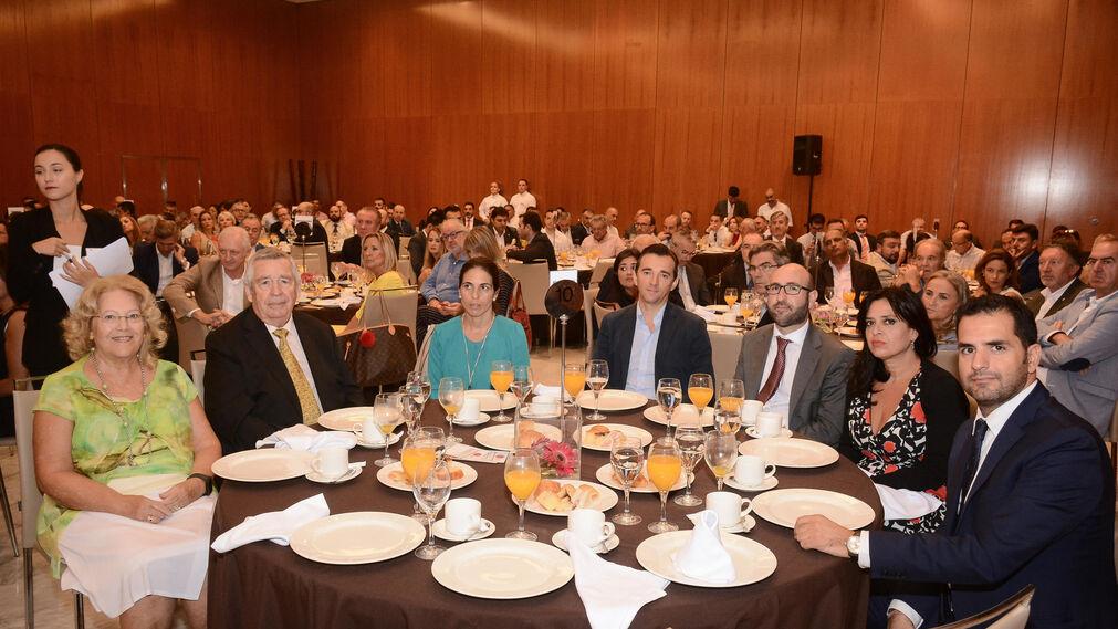 Lola Navas, Cristóbal Morilla, Ana Belén González, Javier Peláez, Rafael Velasco, Ana Jiménez y Laureano Ramos.