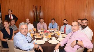 Kamil, Clemente Sánchez, Pablo Prados, Verónica Matos, Juan Luis Matos, Alberto Vázquez, Lorenzo Romero, Andrés Roldán, Emilio Alonso y Juan Carlos Marín.