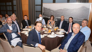 Juan Carlos Marfil, José Manuel García, José Cuadra, Pedro Suárez, Mª José Palma, José Villalodres, Antonio García, Ricardo de las Peñas, Juan García y Joaquín Fernández.