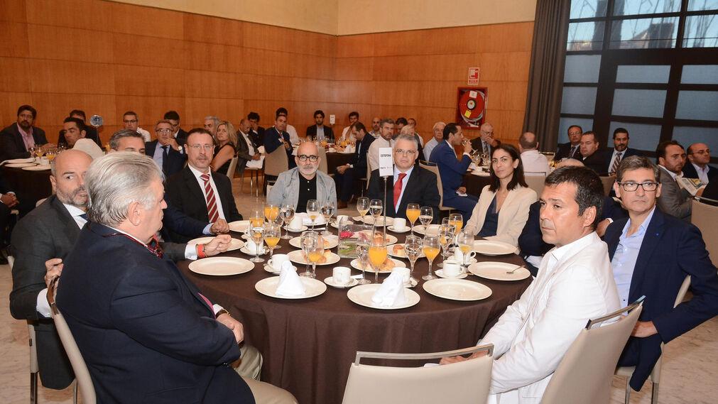 Ramón Gómez, Santiago Gómez, David Martín, Carlos Ponce, Marcos Bonastre, José Sepúlveda, Carmen Martín, Juan Miguel Motos, Antonio Sardina y José Escobedo.