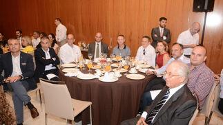 Julio Andrade, Francisco Ríos, Alejandro López, Antonio Agüera, Andrés Rueda, Antonio Torreblanca, Mª Mercedes González, Francisco Cuesta, Ahmed Mazouz y Juan Martín.