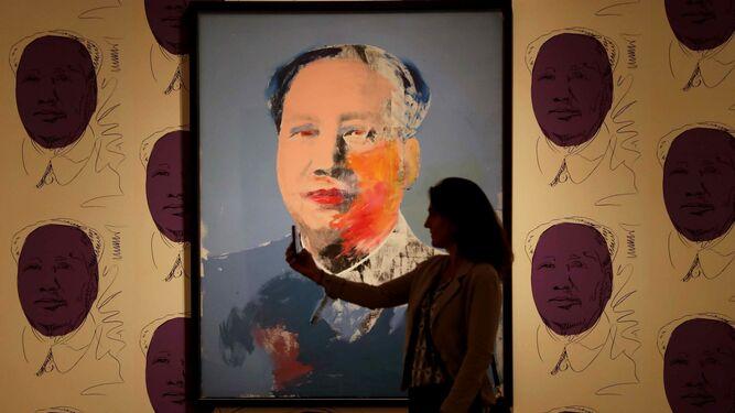 La obra 'Mao' de 1972.