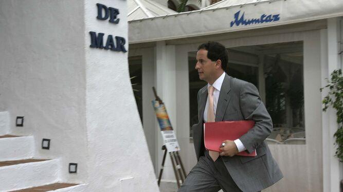 Carlos Fernández, en septiembre de 2005.