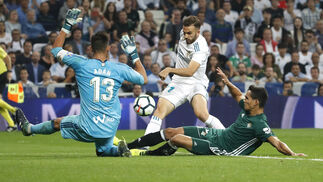 El Real Madrid-Betis, en imágenes