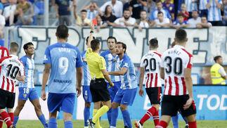 las imágenes del Málaga-Athletic de Bilbao
