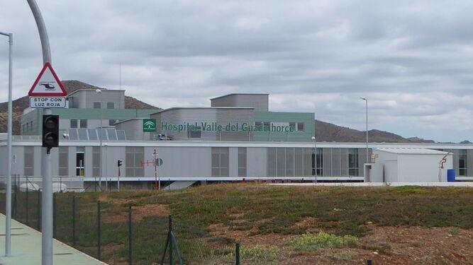 Edificio del Hospital del Guadalhorce, ubicado en el término municipal de Cártama.