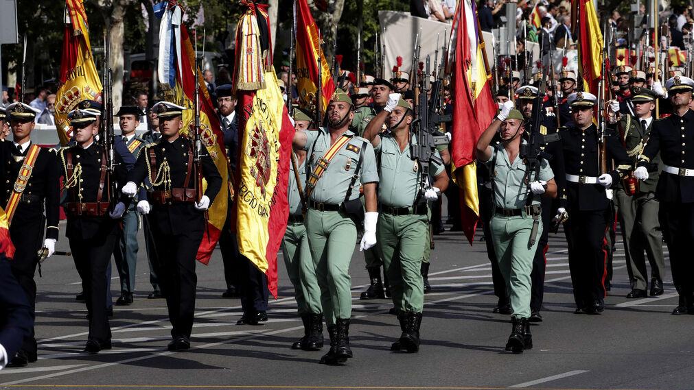 Las imágenes por el Día de la Fiesta Nacional