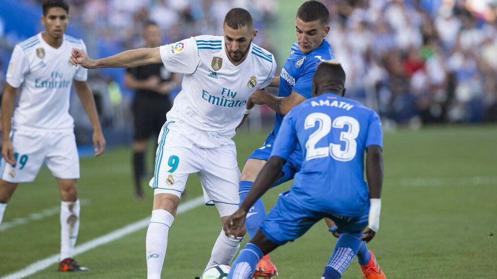 El Getafe-Real Madrid, en imágenes