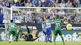 El Málaga CF-Leganés, en imágenes