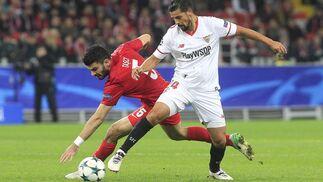 Las imágenes del Spartak de Moscú-Sevilla FC
