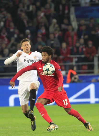 Las imágenes del Spartak de Moscú-Sevilla