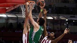 Las imágenes del Olympiacos-Unicaja