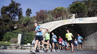 Imágenes de la Carrera Urbana Ciudad de Málaga