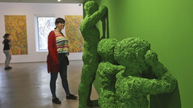 Esculturas de impacto en 'La belleza llora con la tragedia'.