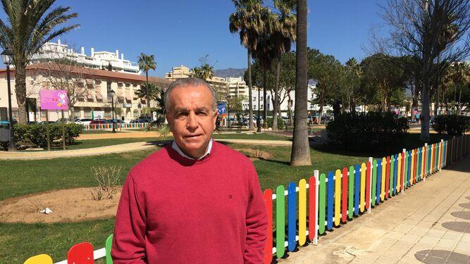 Antonio Tapia, el año pasado, justo antes de una entrevista con este medio.