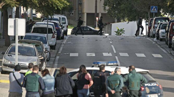Herido un guardia civil de Málaga en una operación antidroga en ...