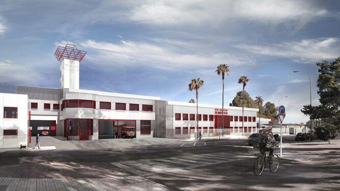 Un 'nuevo' parque de bomberos