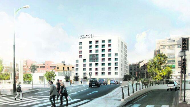 La ltima oportunidad para el hotel de moneo for Hotel diseno malaga