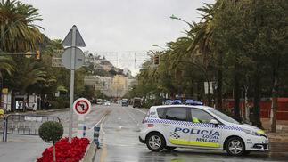 Las consecuencias del paso de 'Ana' por Málaga