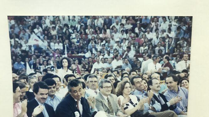 Un acto con José María Aznar en Málaga.