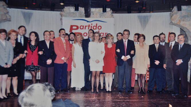Un acto del PP con Javier Arenas.