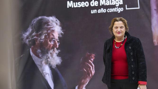 La directora del Museo de Málaga, María Morente.