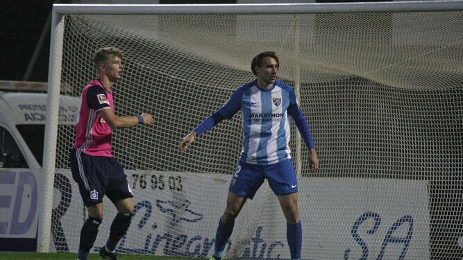 Ignasi Miquel, en el Hamburgo-Málaga.