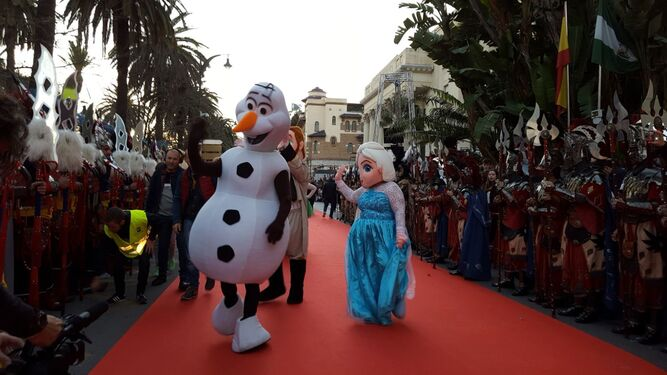 Comienza la Cabalgata de Reyes en la capital.