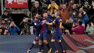 El Barcelona-Levante, en imágenes