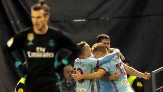 El Celta de Vigo-Real Madrid, en imágenes