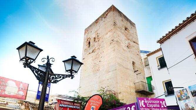Torre Pimentel, en Torremolinos.