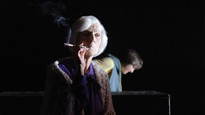 Aurora Herrero interpreta a la filósofa en su madurez.