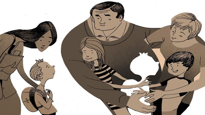 Más de 700 niños viven con una familia de acogida