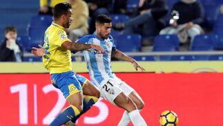 Las imágenes de Las Palmas-Málaga Cf