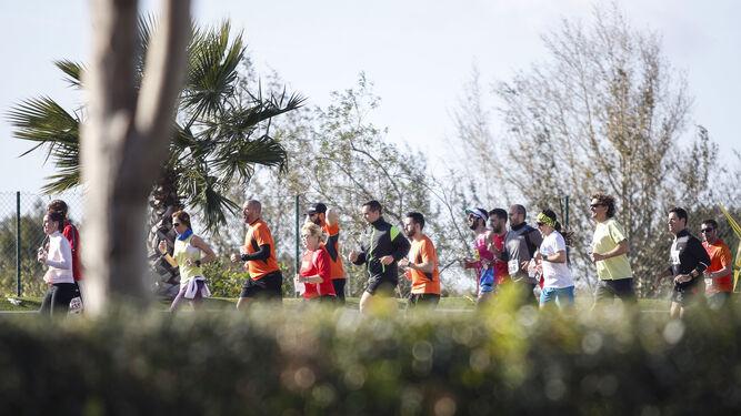 La carrera reunió a 1.800 personas.