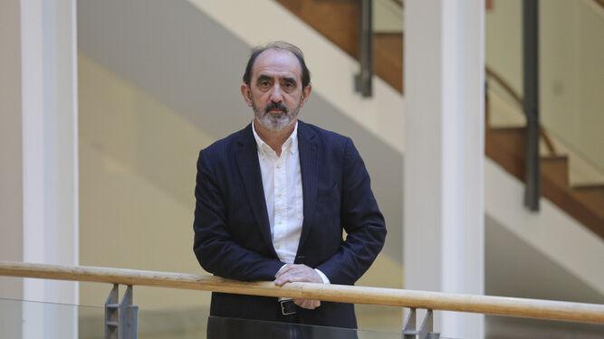Daniel Innerarity (Bilbao, 1959), el pasado jueves, en el Rectorado de la UMA.